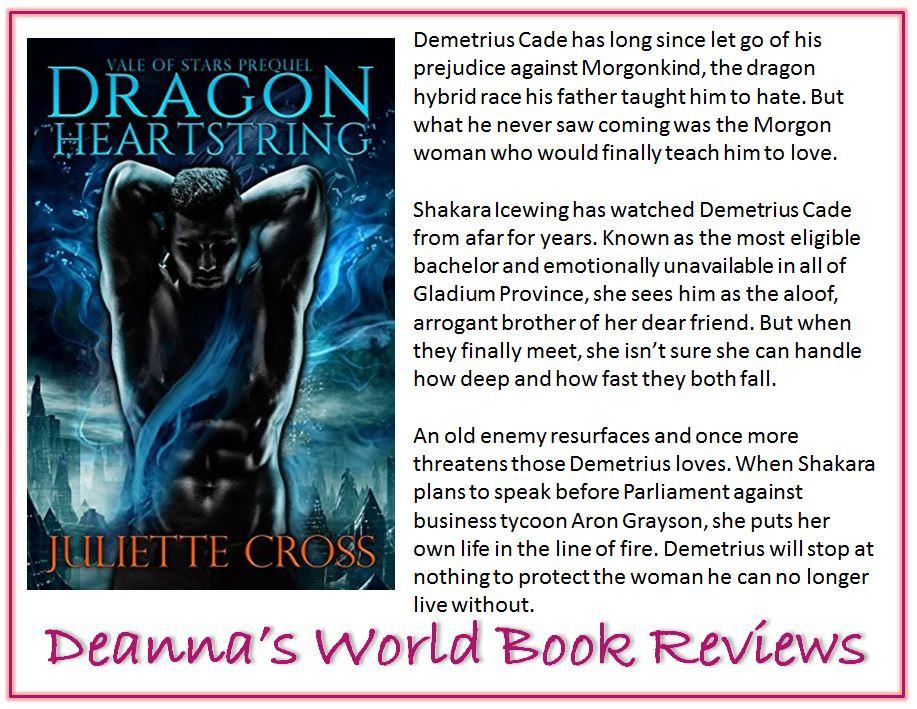 Dragon Heartstring by Juliette Cross blurb