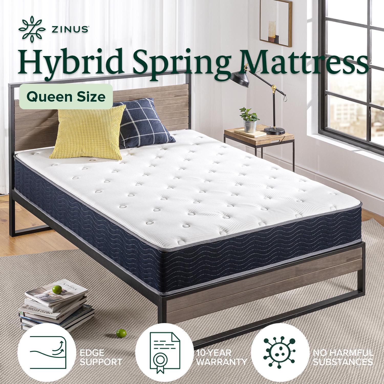 thumbnail 112 - Zinus Mattress Queen Double King Single Bed Memory Foam Pocket Spring Hybrid