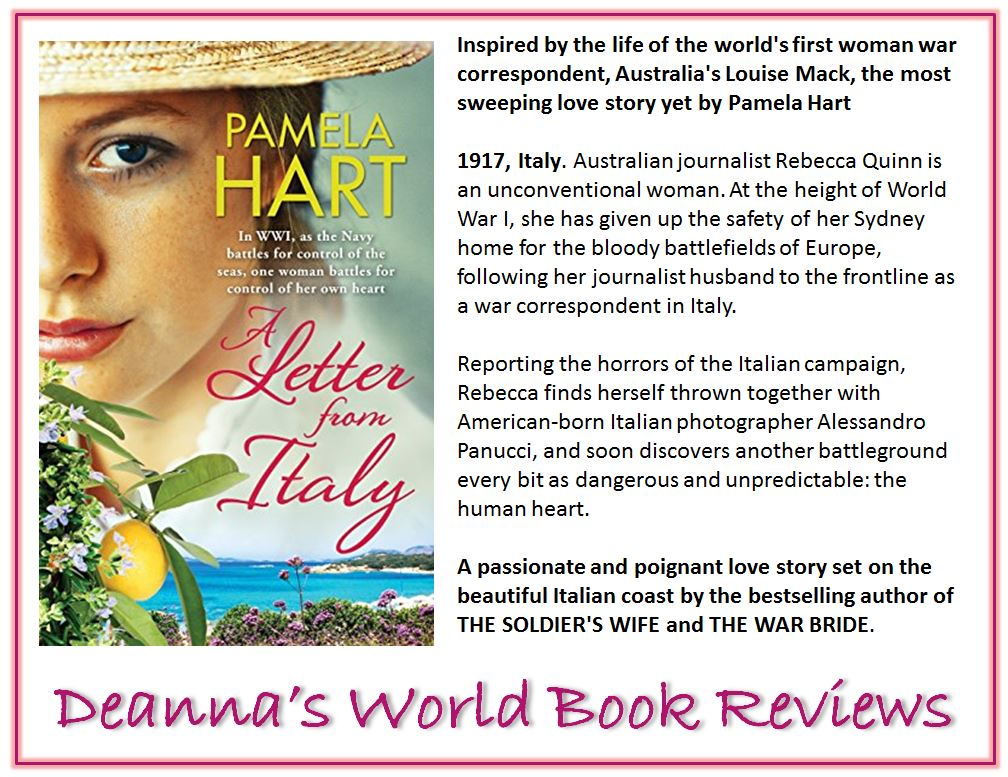 A Letter From Italy by Pamela Hart blurb