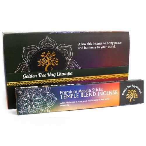 golden tree premium nag champa incense - temple blend
