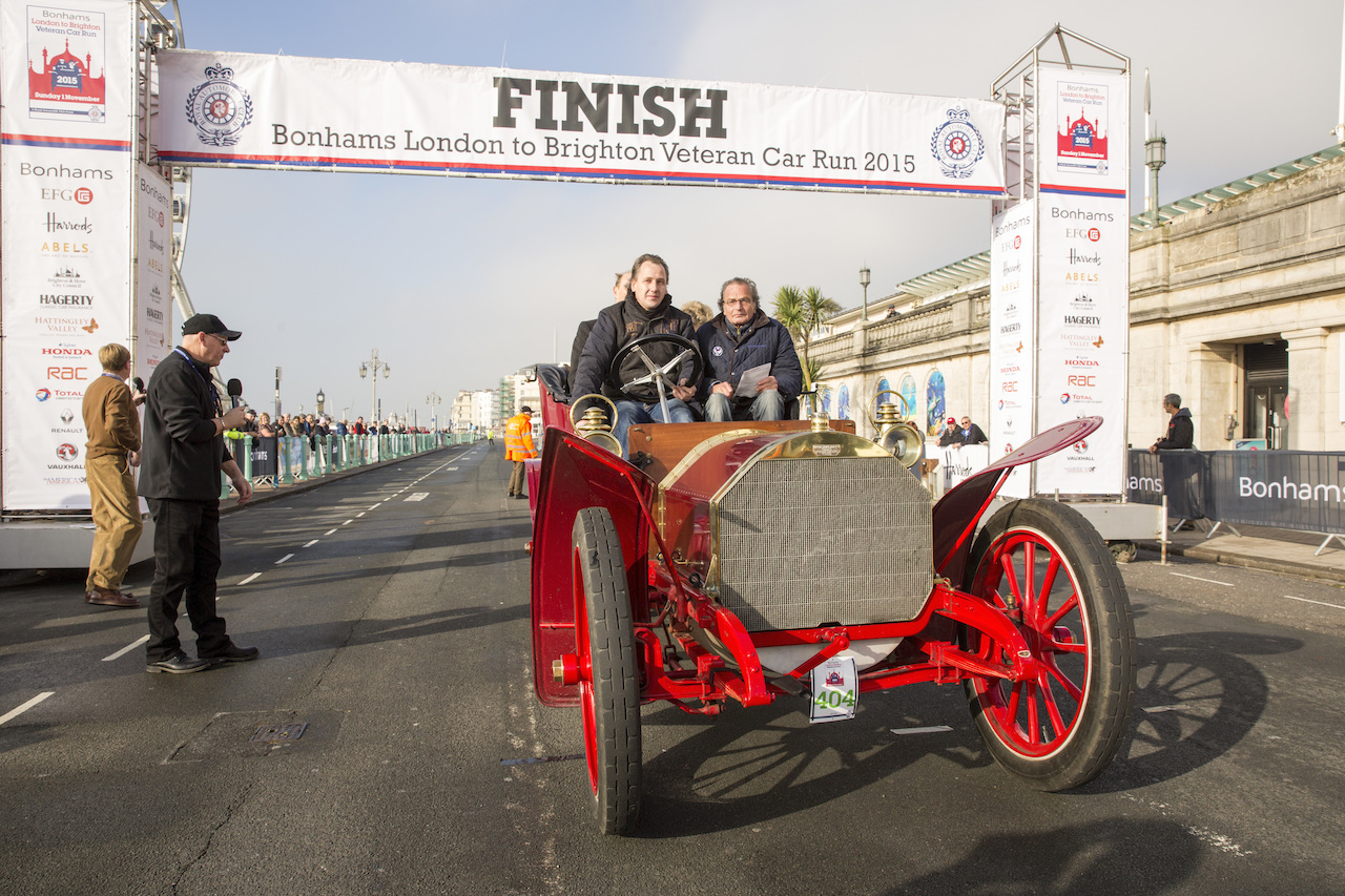 Fiat 120th Milestone at London to Brighton Veteran Car Run