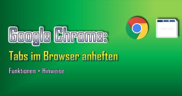 Das Anheften von Tabs funktioniert schnell + einfach und vereinfacht die Arbeit im Browser.