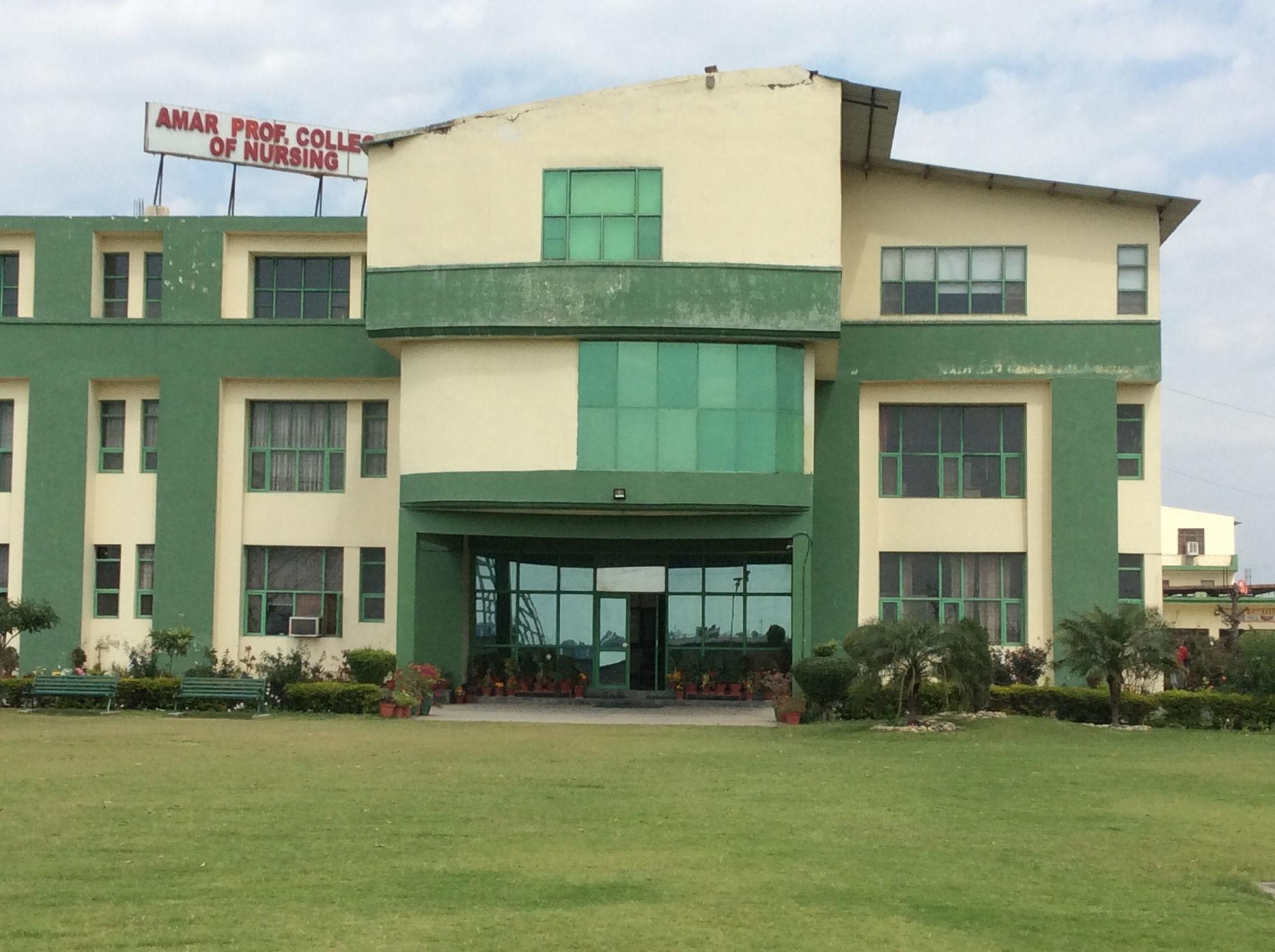 Amar Professional College of Nursing, Dera Bassi