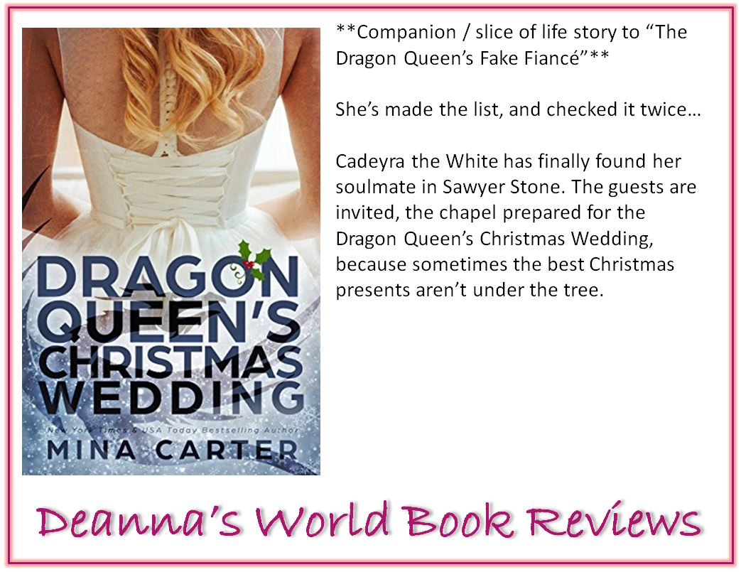 The Dragon Queen's Christmas Wedding by Mina Carter blurb