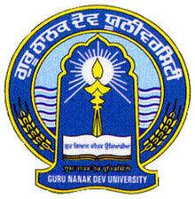GNDU (Guru Nanak Dev University), Amritsar