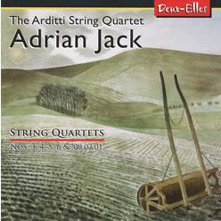 Adrian Jack's String Quartets on Deux-Elles DXL 1116 - click for more details including online purchase