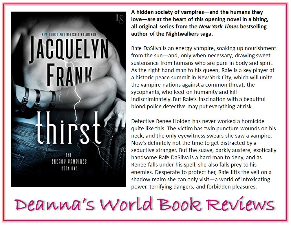 Thirst by Jacquelyn Frank blurb