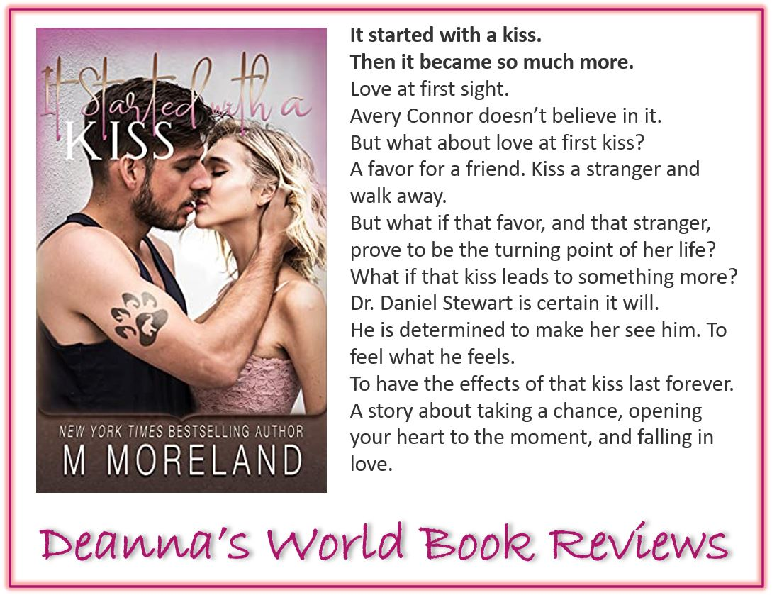 It Started With A Kiss by Melanie Moreland blurb