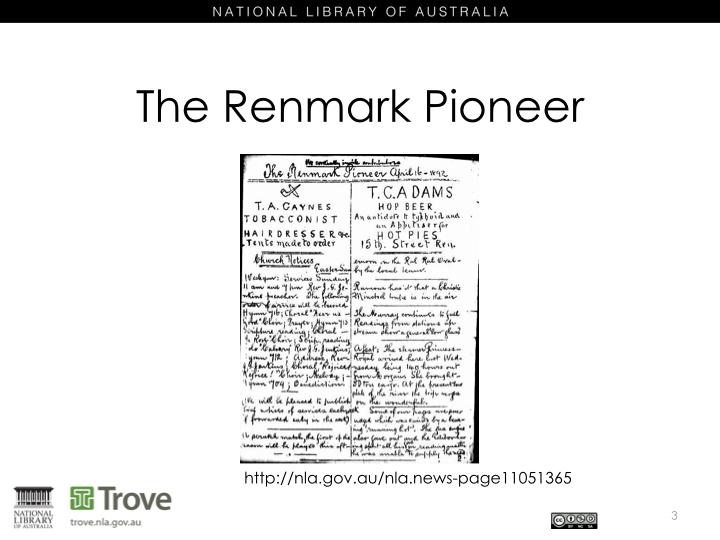 Renmark Pioneer