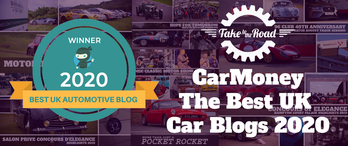 Take to the Road 2020 Car Money Best UK Car Blogs