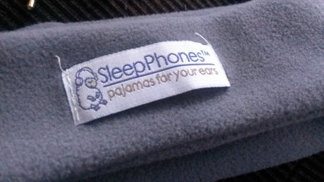 Gray sleep phone