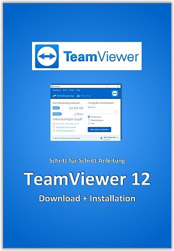 In diesem eBook erfahren Sie, wie Sie die Fernwartung Software TeamViewer 12 herunterladen und installieren können.