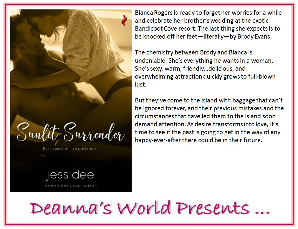 Sunlit Surrender by Jess Dee blurb