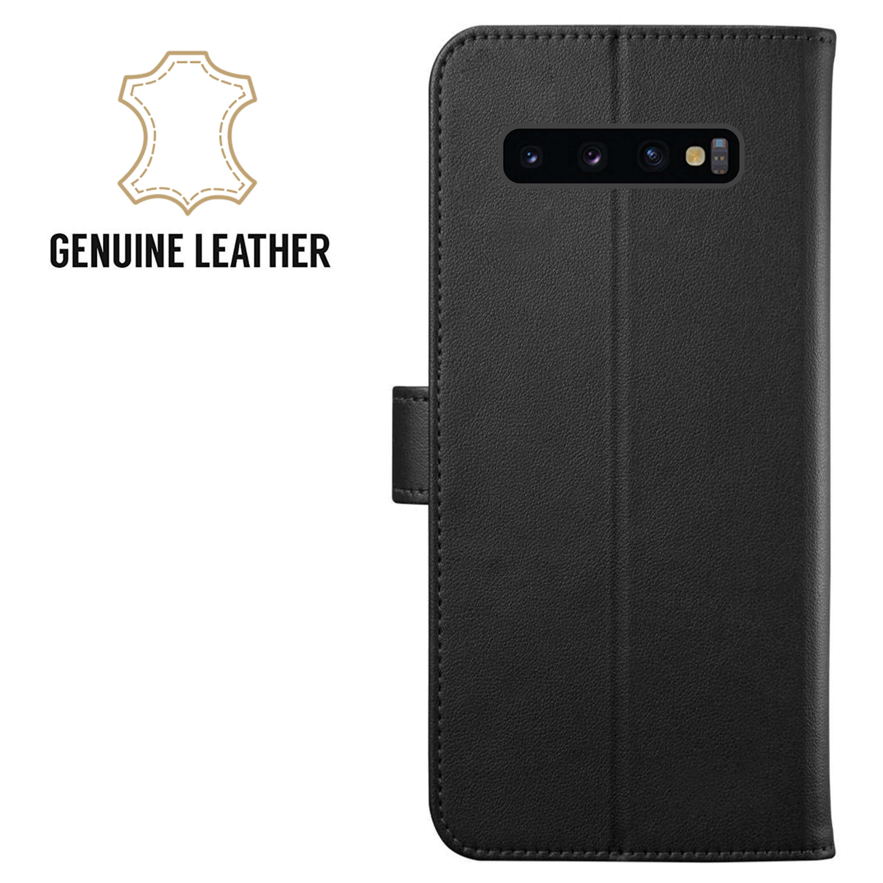 Leather-Flip-Wallet-Magnetic-Case-Cover-For-Samsung-Galaxy-S10-Plus-S9-S8-A50 thumbnail 13