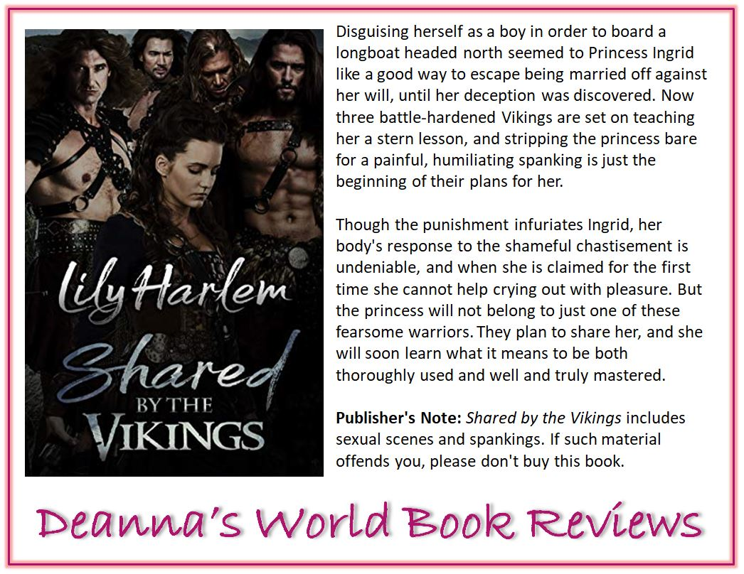 Shared By The Vikings by Lily Harlem blurb
