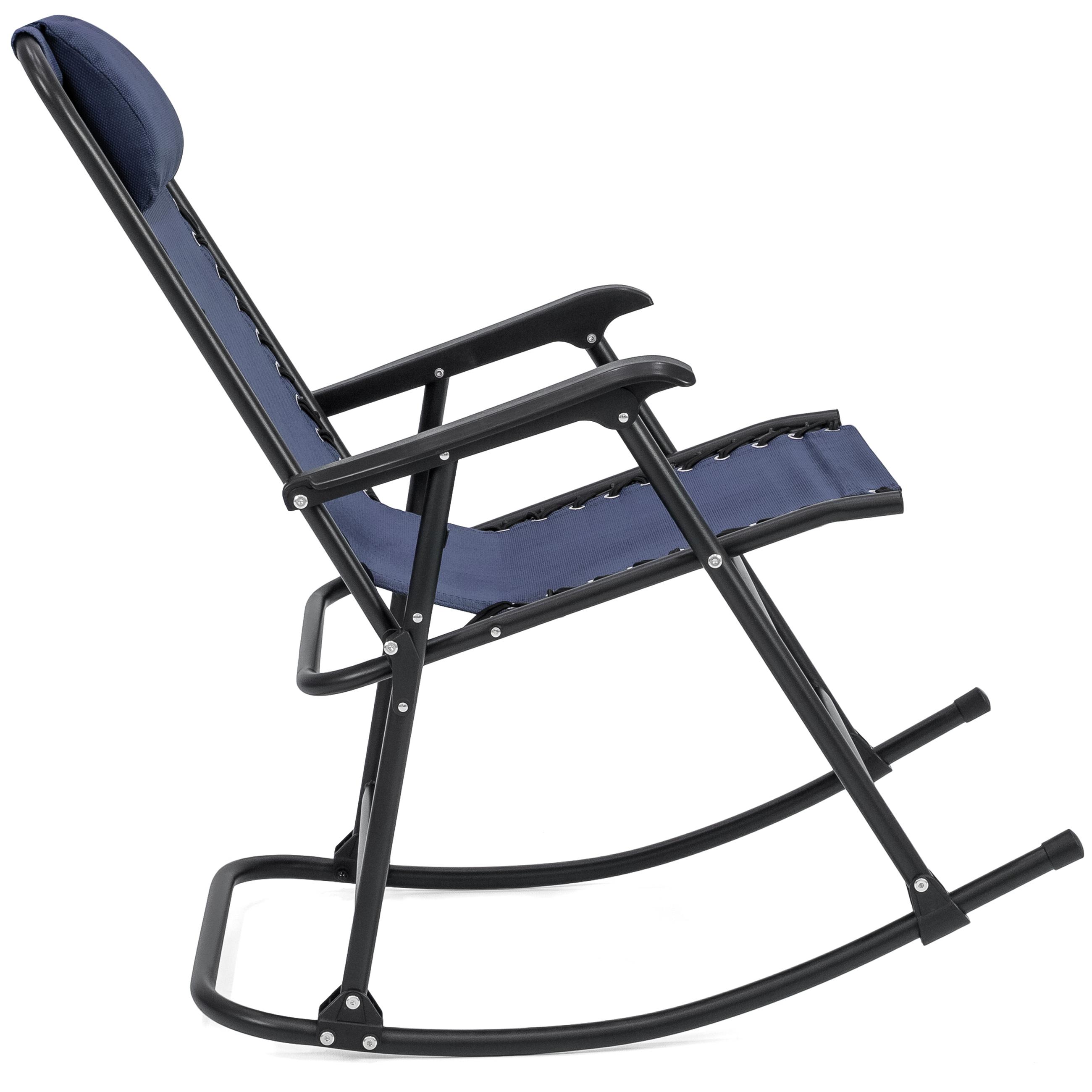 BCP-Foldable-Zero-Gravity-Patio-Rocking-Lounge-Chair thumbnail 24