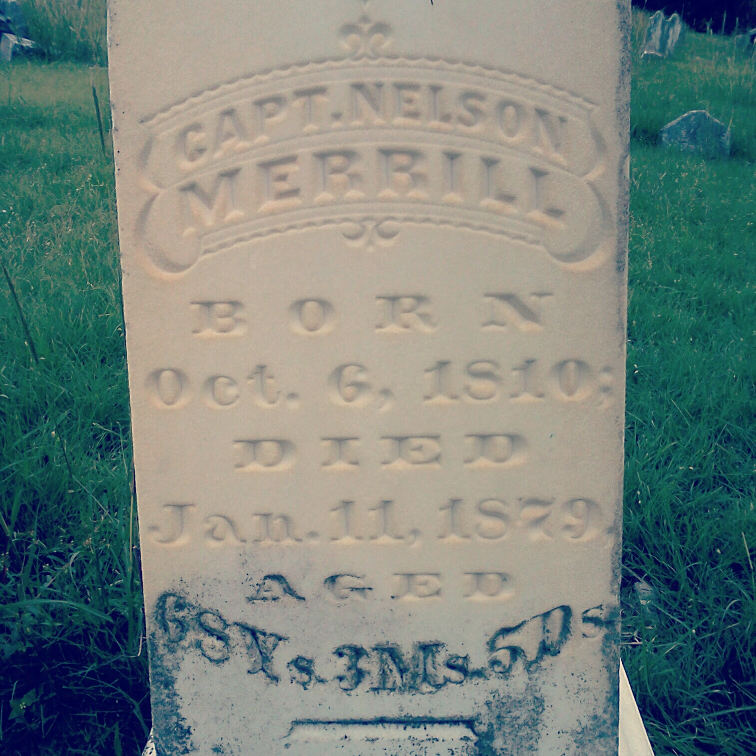 The man Merrilltown is named after.