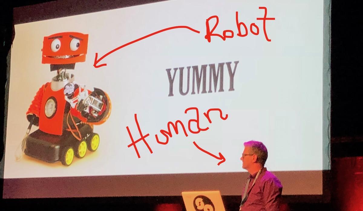 Robot & human
