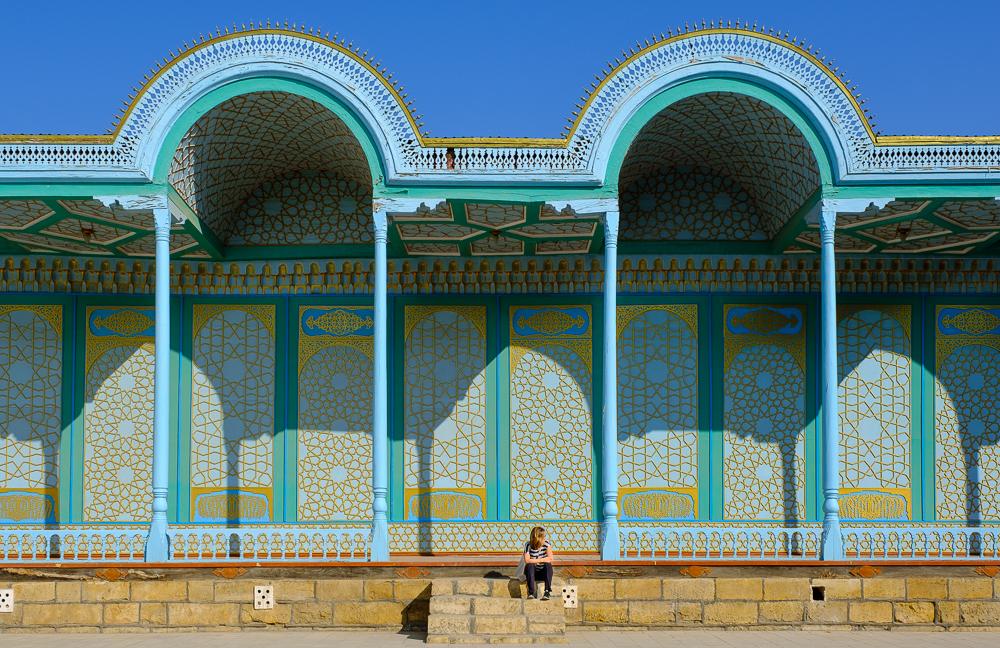 nina voor zomerpaleis bukhara