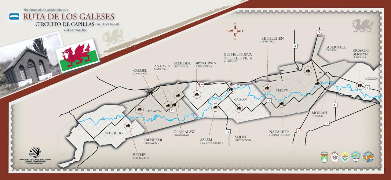 ruta de los galeses