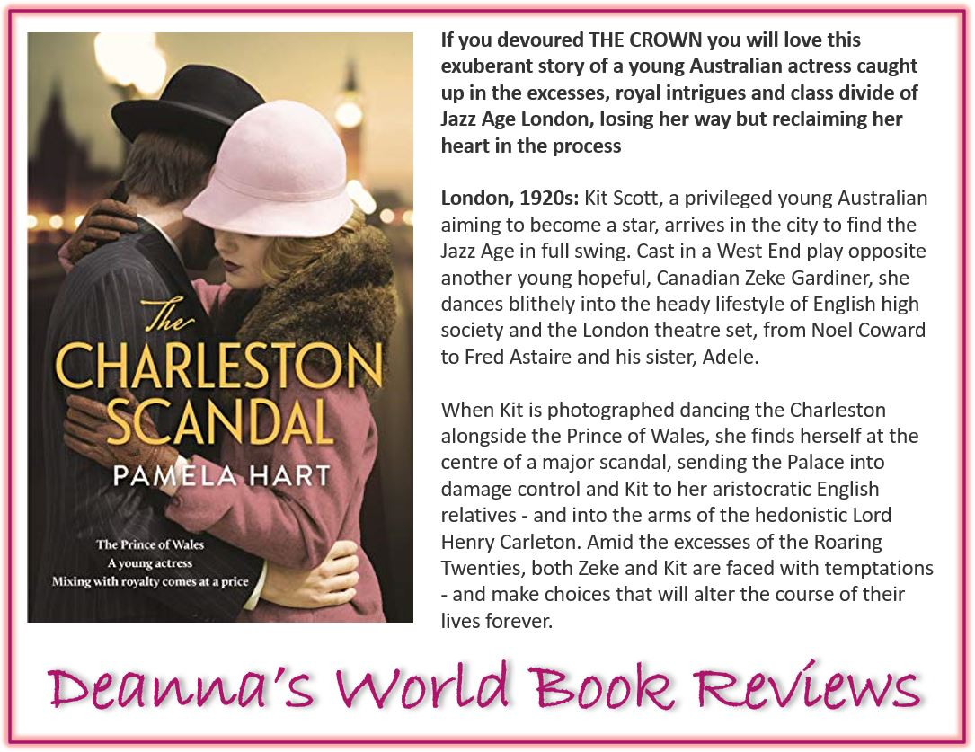 The Charleston Scandal by Pamela Hart blurb