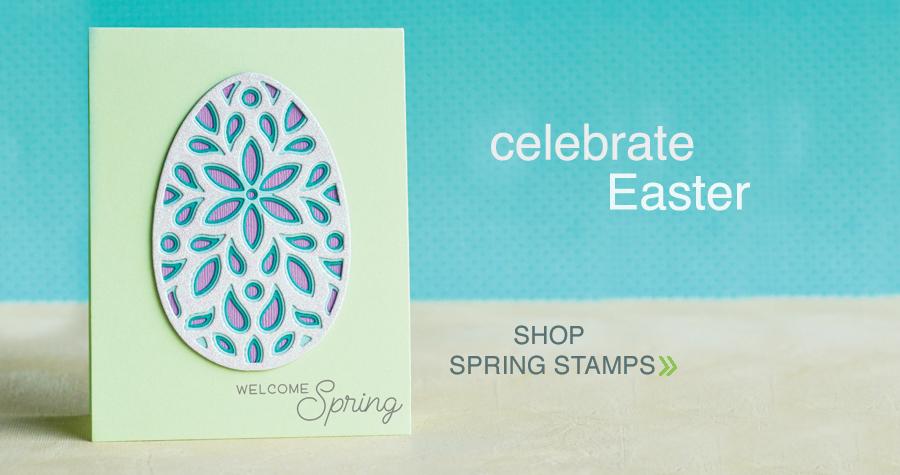 shop spring stamps