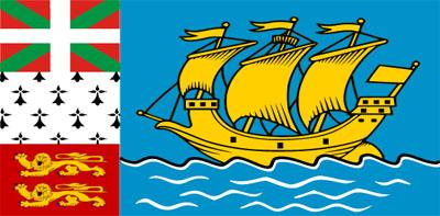 Bandera de San Pedro y Miquelón