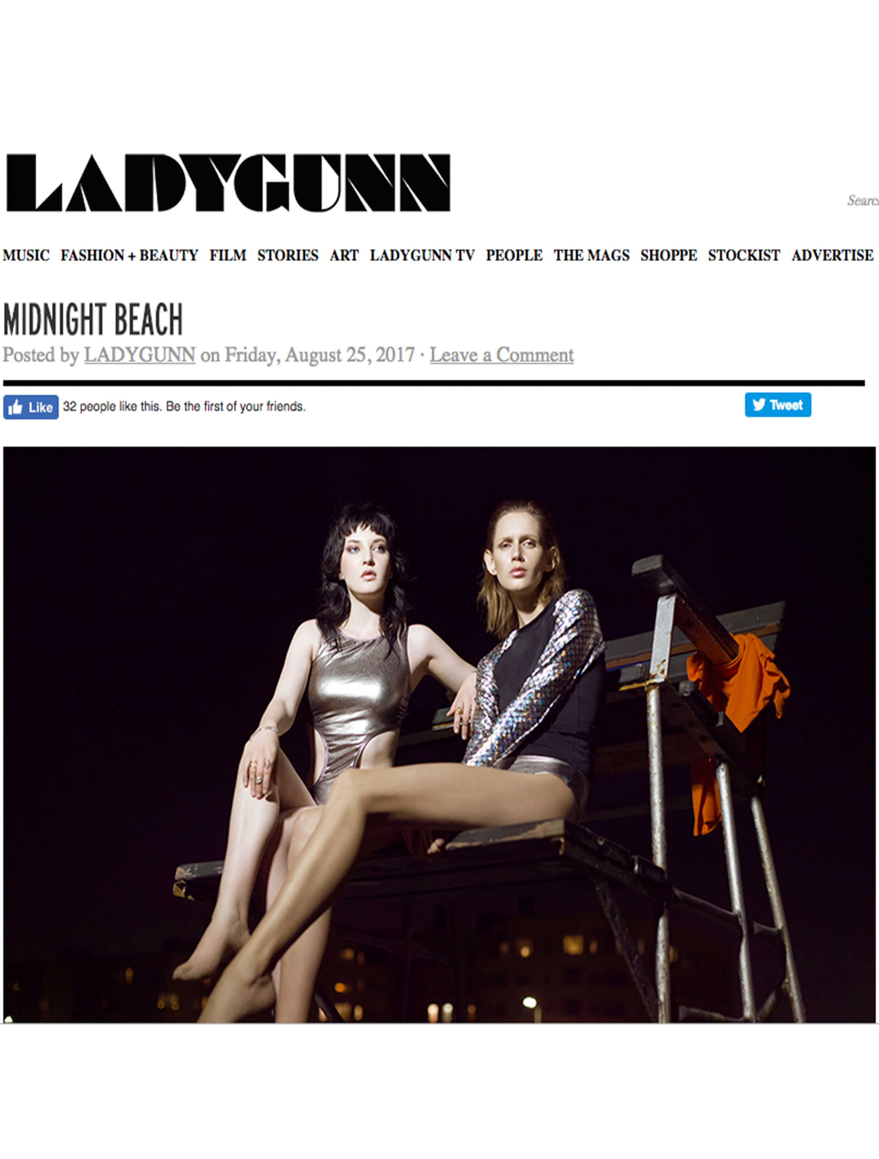 LadyGunn Online, August 25, 2017