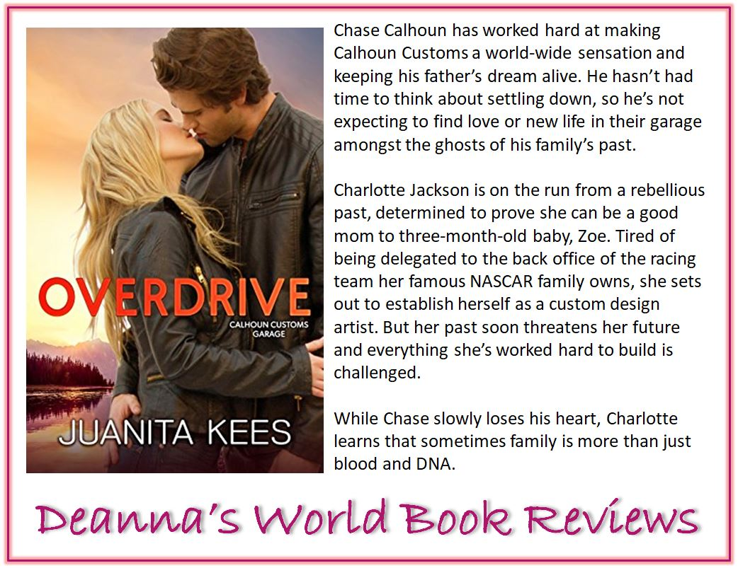 Overdrive by Juanita Kees blurb