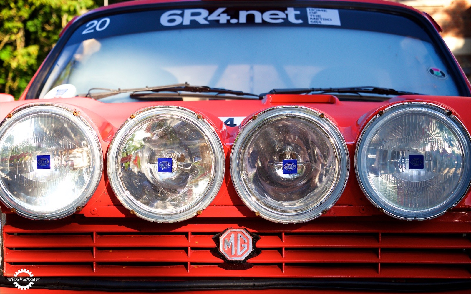 Take to the Road Video Feature Metro 6R4 Group B Rally Car