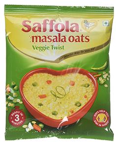Saffola Oats Masala Veggie Twist 40 g