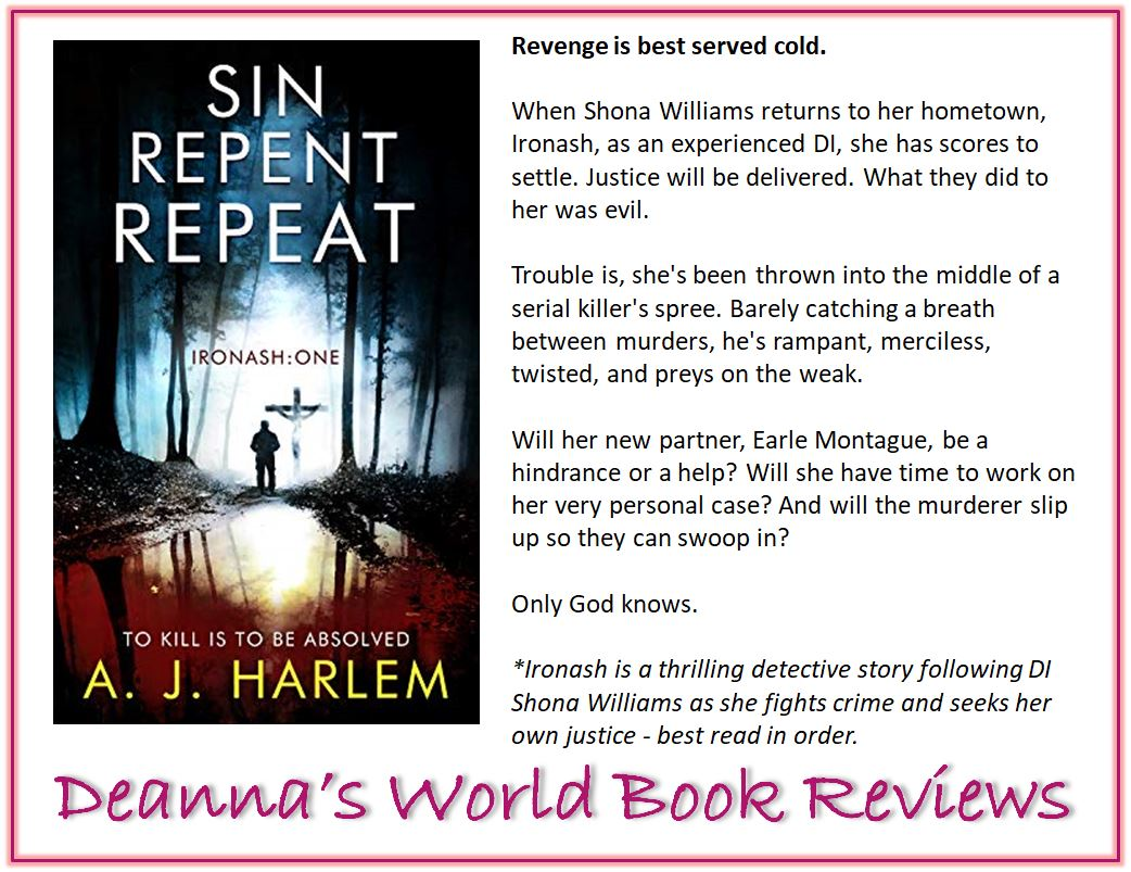 Sin Repent Repeat by A J Harlem blurb