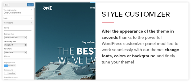 One - The Creative Multipurpose Portfolio theme - 8