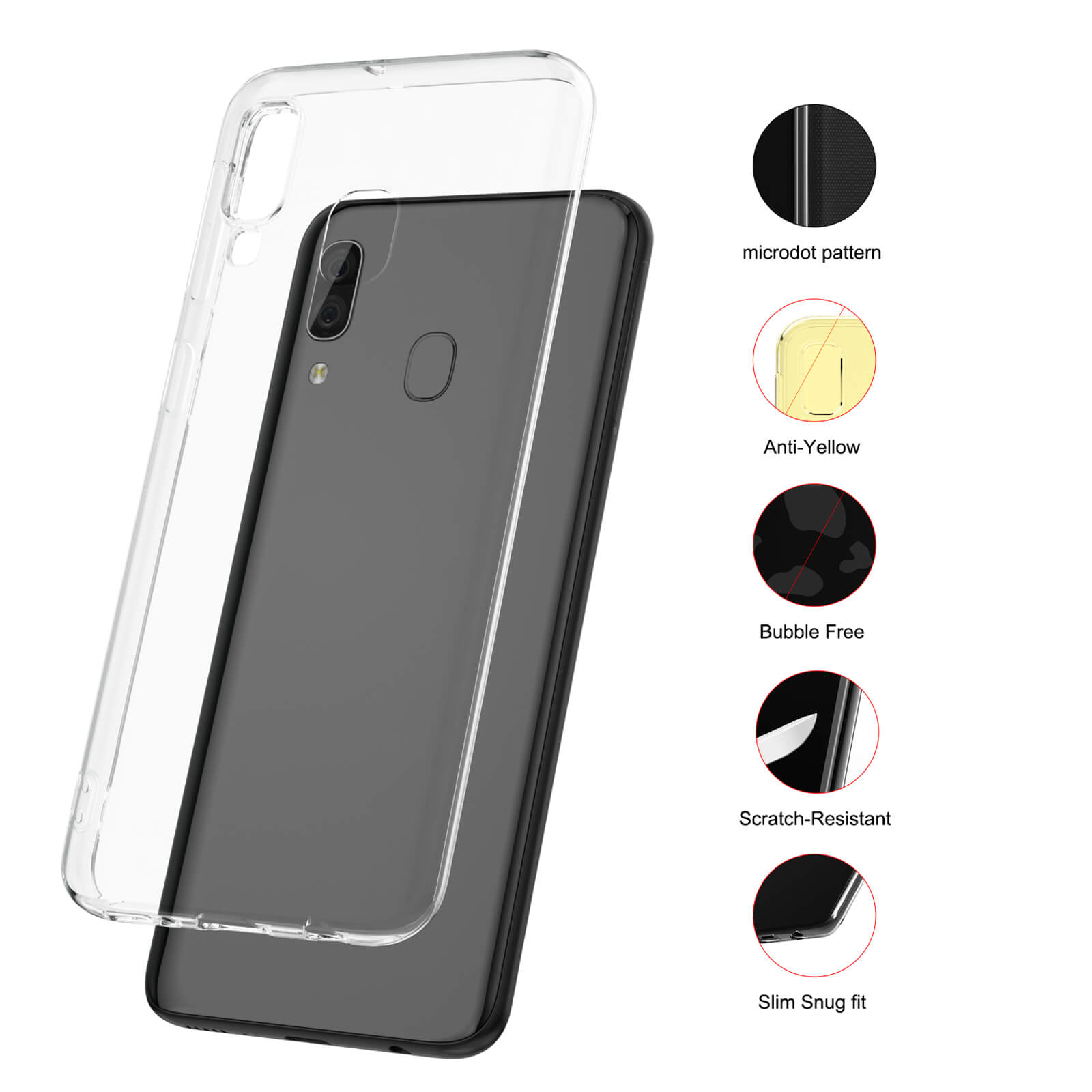 For-Samsung-Galaxy-S10-S9-S8-Case-Shockproof-Silicone-Protective-Clear-Gel-Cover thumbnail 63
