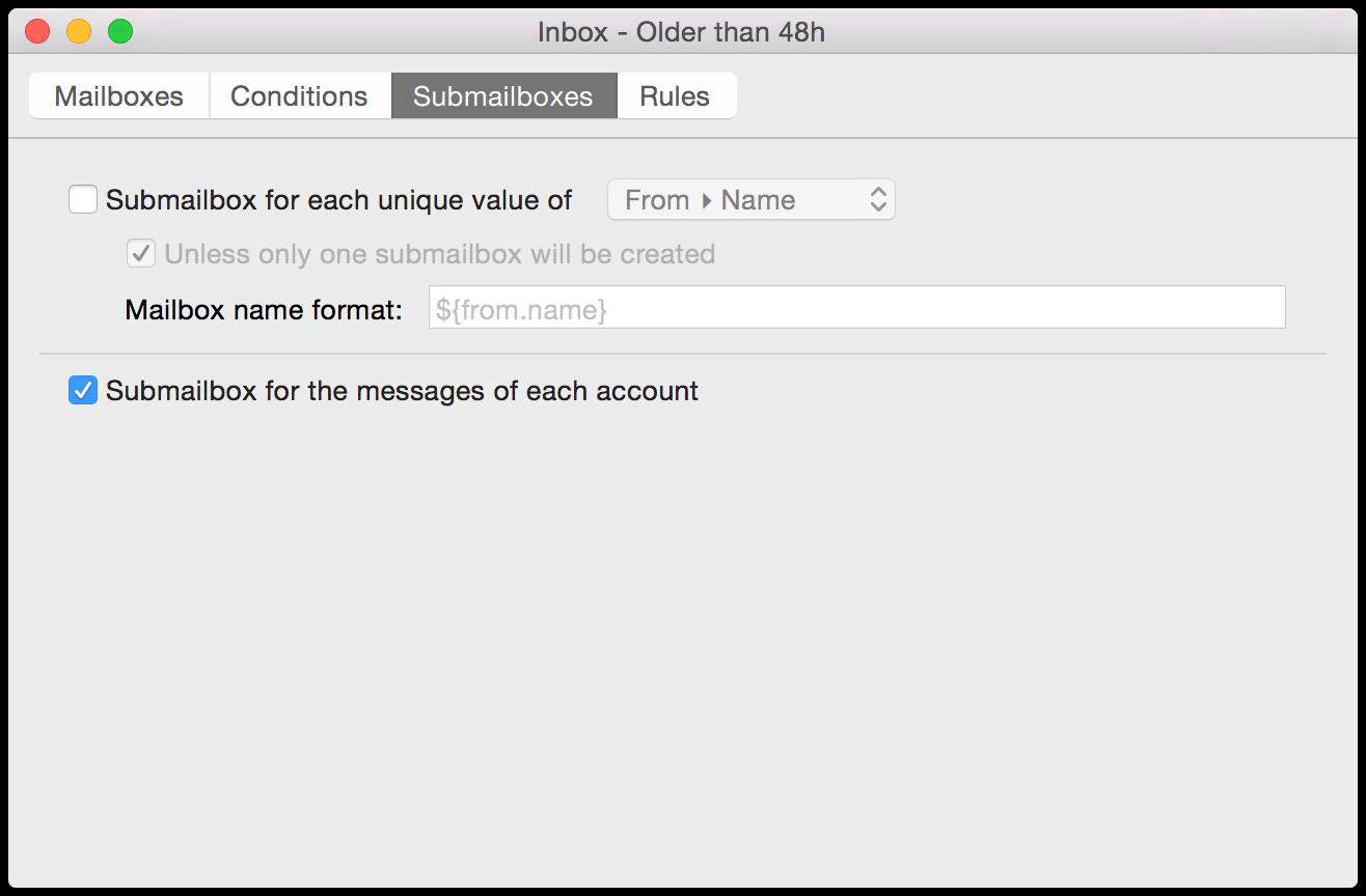 Submailboxes