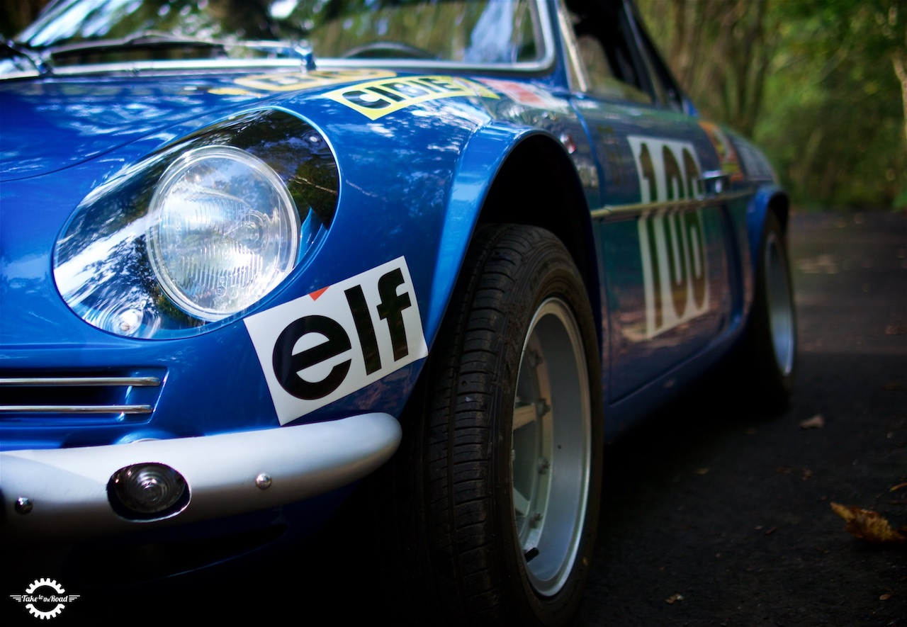 Take to the Road Video Feature World Rally Icon 1969 Alpine A110 Works Rally Car