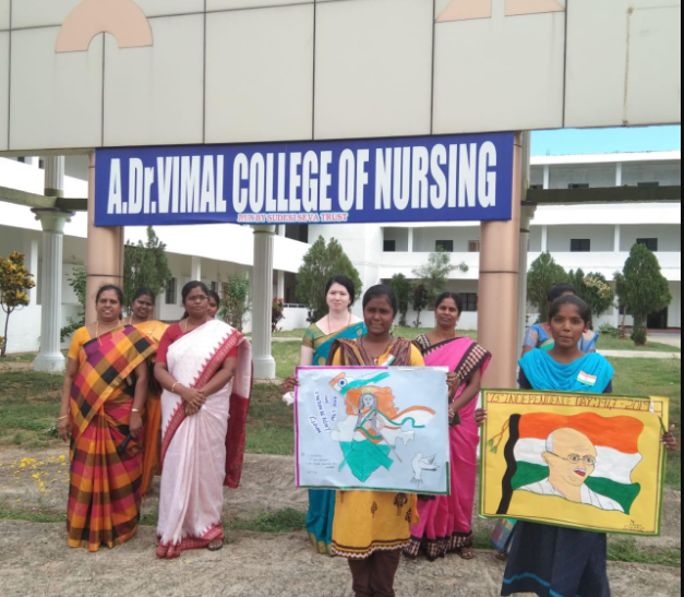 A. Dr. Vimal College of Nursing, Vellore