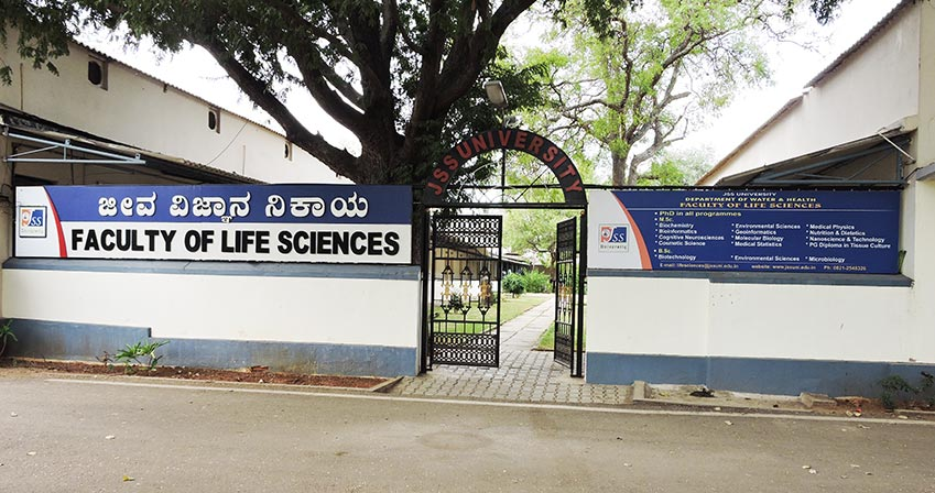 JSS, Department of Water and Health - Faculty of Life Sciences, Mysore Image
