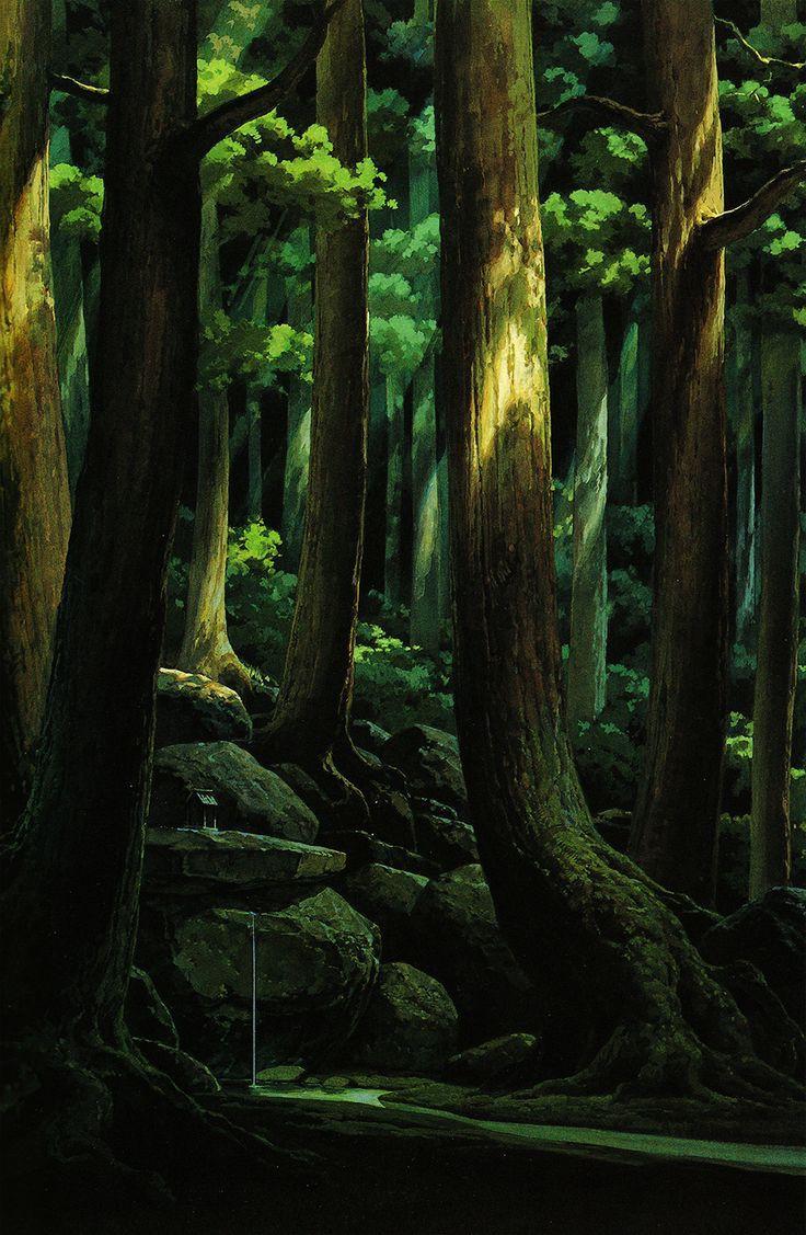Anime Nature Background 3