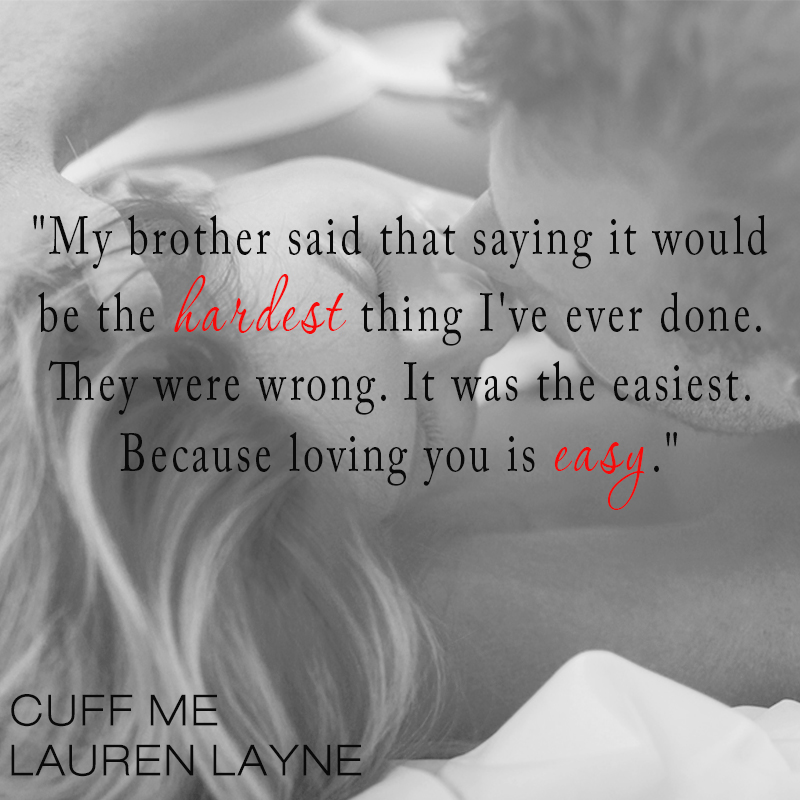 Cuff Me by Lauren Layne teaser 2
