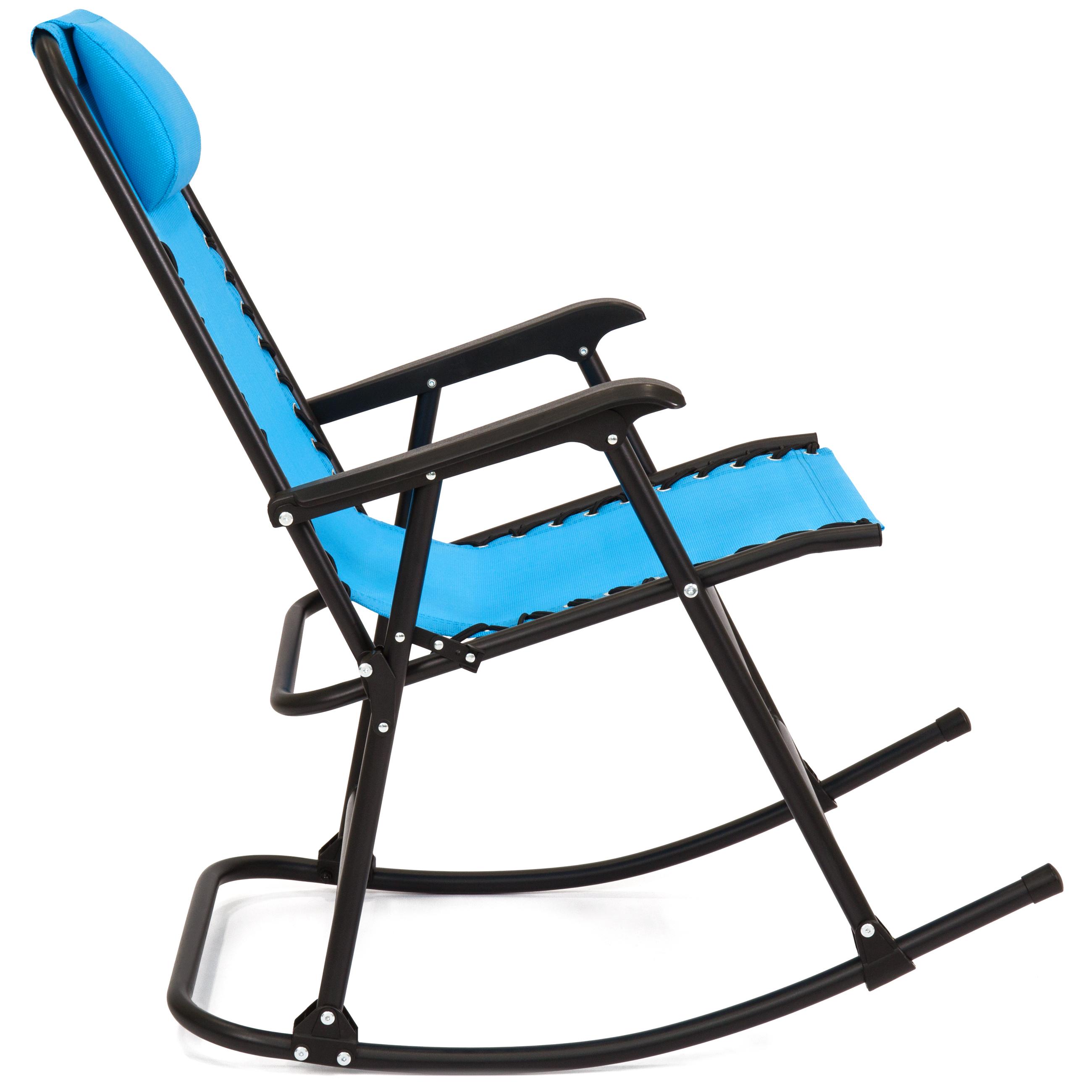 BCP-Foldable-Zero-Gravity-Patio-Rocking-Lounge-Chair thumbnail 45