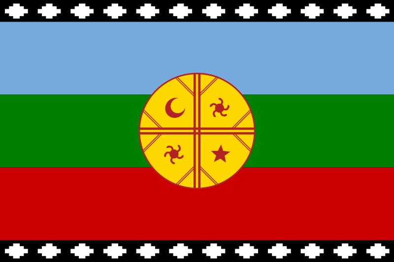 Bandera de Mapuche