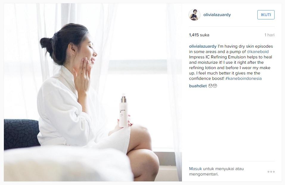 Instagram Olivia Lazuardy