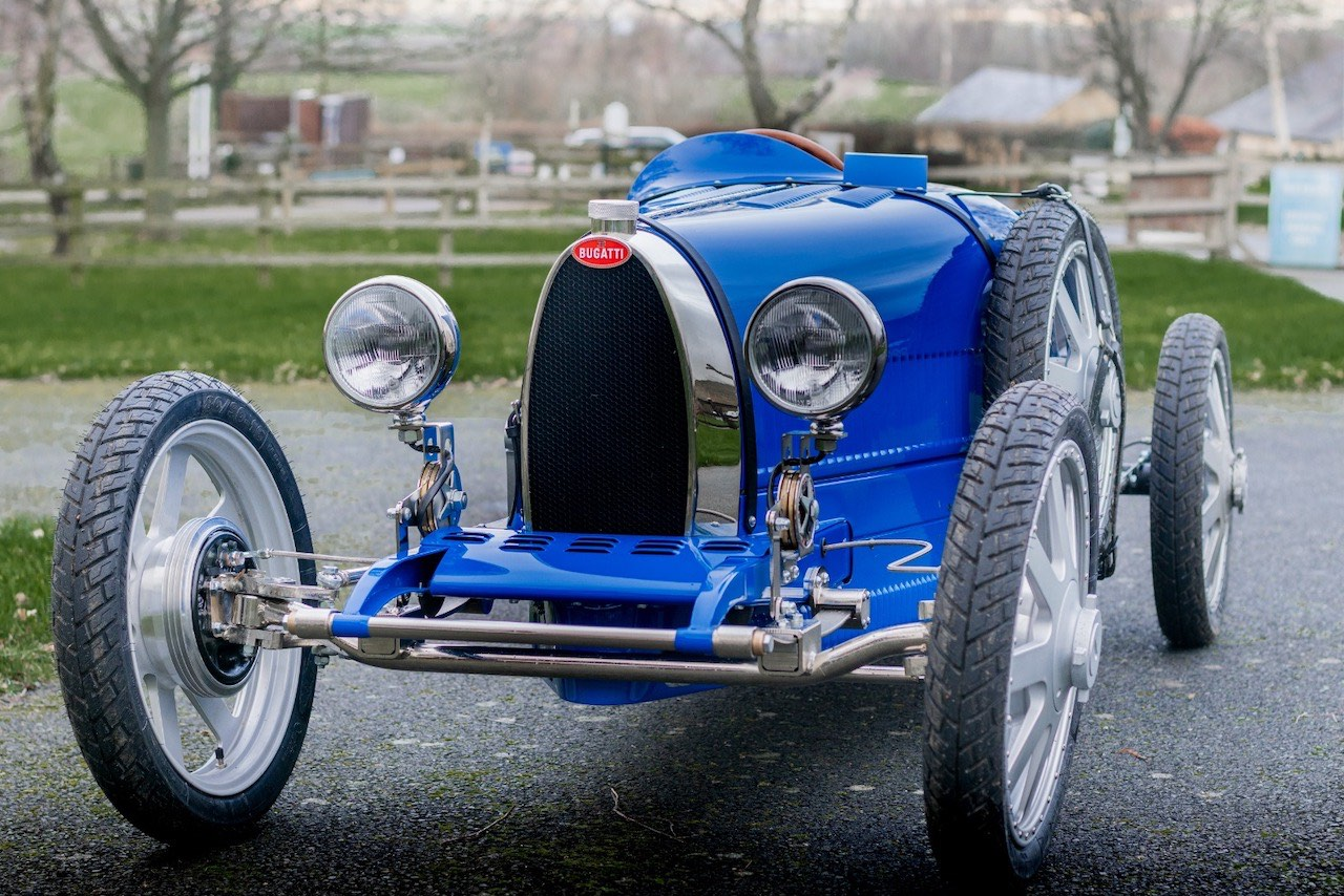 Bugatti Baby II gets seal of approval from Bugatti Owners Club