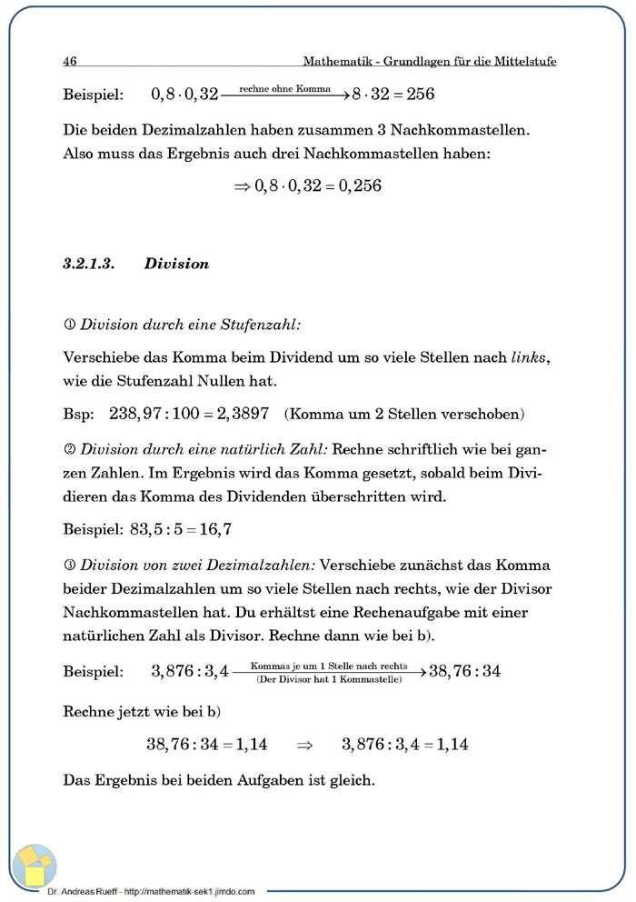 Mathe-Grundlagen [1] - Mathematik, Physik, Technik, MINT ...