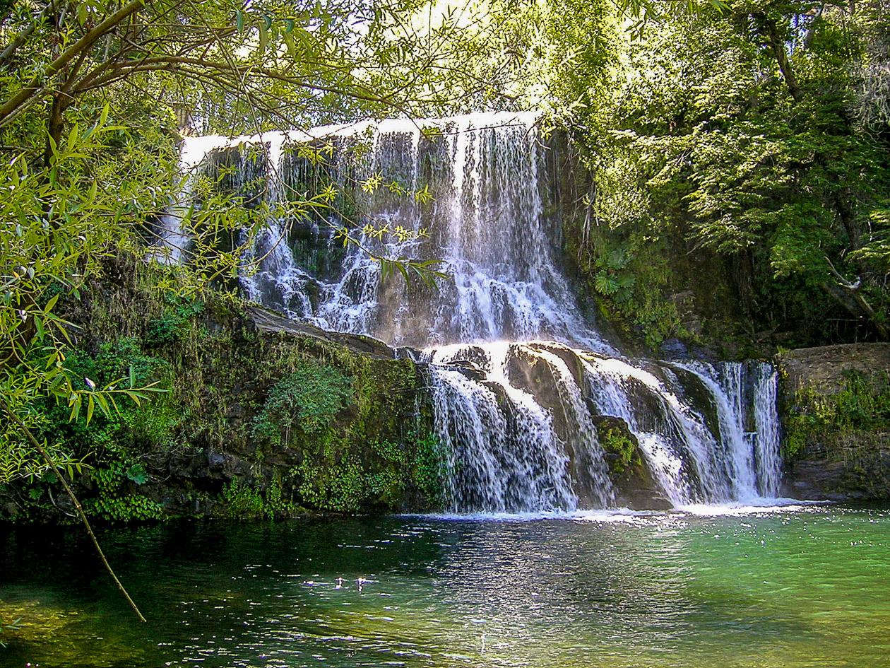 Cascada de Mallín Ahogado