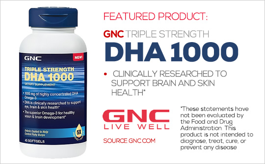 Featured Product: DHA