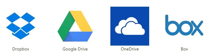 In Cloud-Speichern wie Dropbox, Google Drive, Microsoft OneDrive oder Box liegen meist viele wertvolle + persönliche Daten.