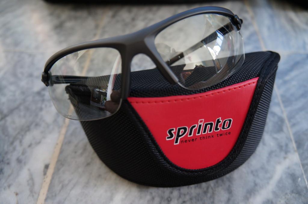 Sprinto clear lens