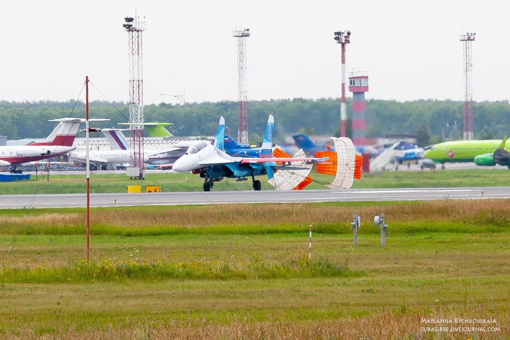 Соколы России на Су-27